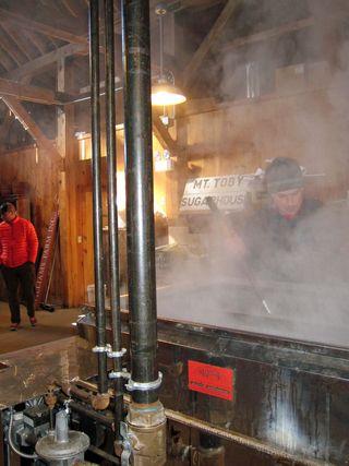 Stirring boil