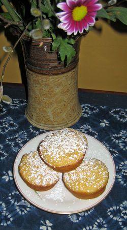 Lemon muffinbs