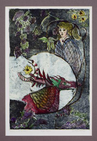 Girl and Dragon2