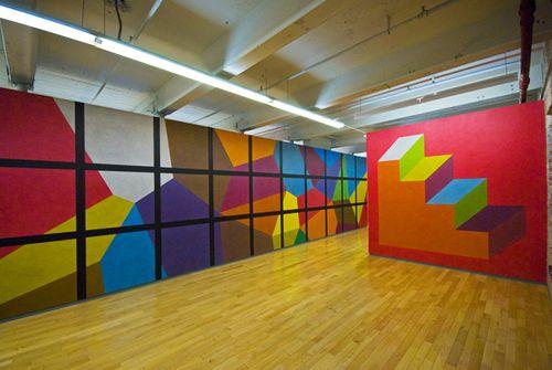 Sol Lewitt, A Wall Drawing Retropsective