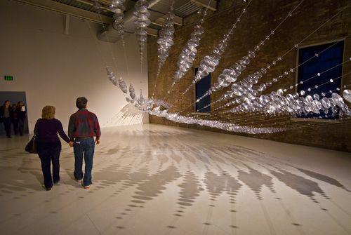 Alyson Shotz, The Geometry of Light, 2010